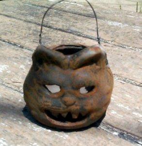 Mini Black Cat Cup Ornament