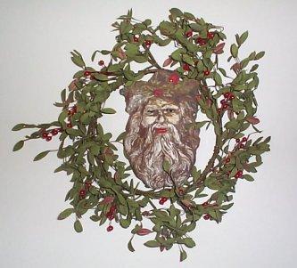 Santa Face Plaque