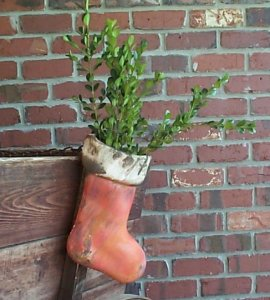 Stocking Planter