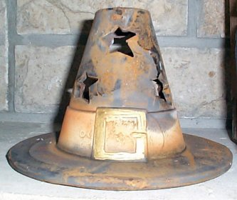 Witch Hat Candle Cover